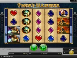 Spin online free slot Thor´s Hammer