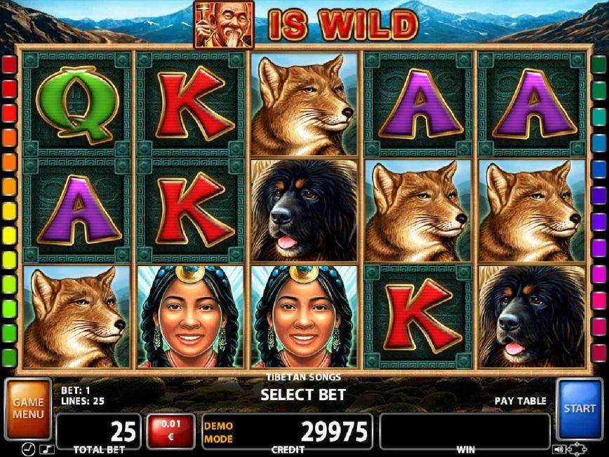 Play free casino game Tibetan Song
