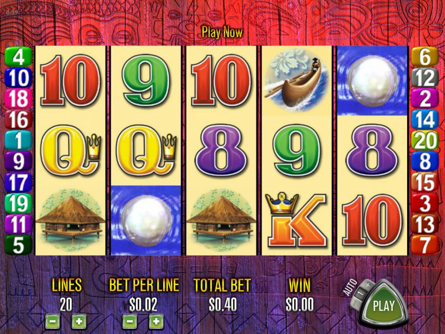 Tiki Torch Casino Game