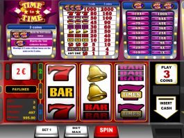 Spin casino slot game Time to Time