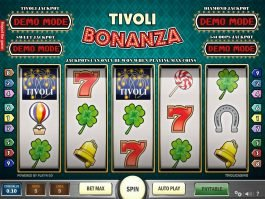 Tivoli Bonanza slot machine for fun