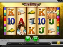 Tom Sawyer and Huckleberry Finn online slot
