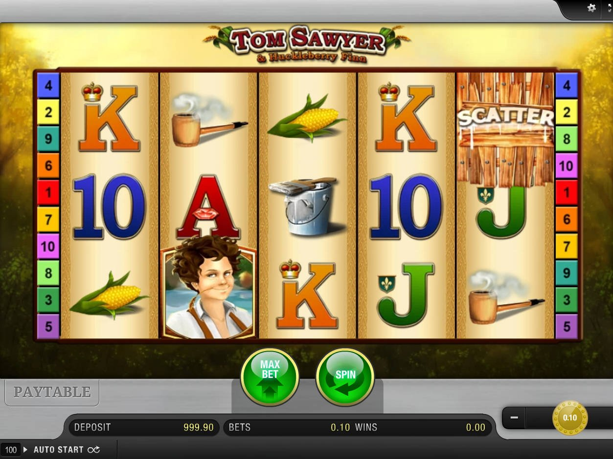 tom sawyer and huckleberry finn casino