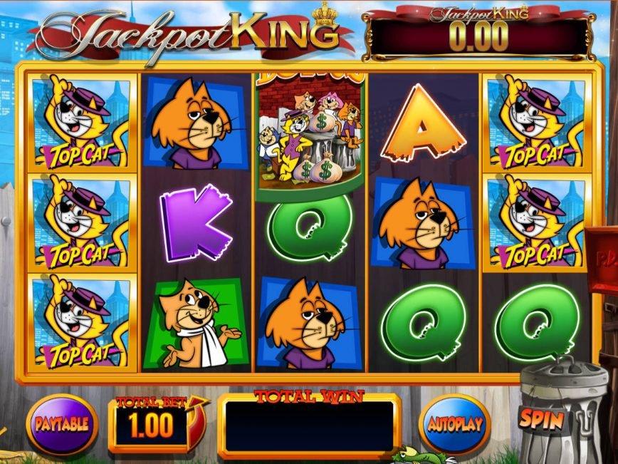 Free slot machine Top Cat for fun