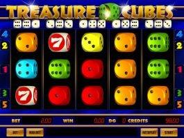 Spin casino slot machine Treasure Cubes