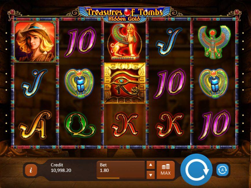 Treasures of Tombs: Hidden Gold online slot