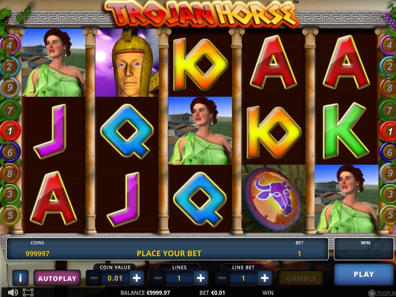 Trojan Horse Slot Machine