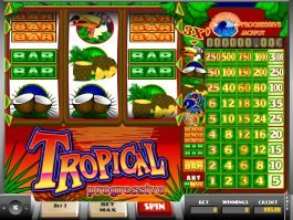 Casino free online slot Tropical Progressive