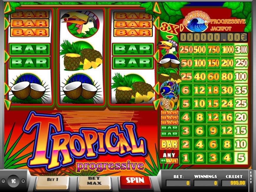 Free Progressive Slot Games