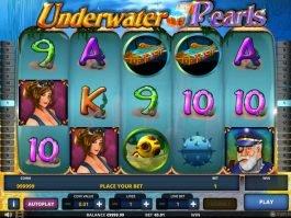 Play free slot machine Underwater Pearls