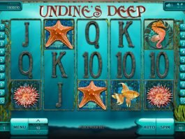 No deposit game Undine's Deep online