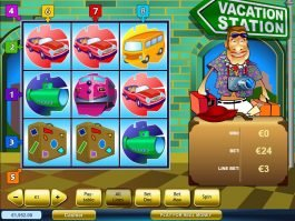 Play slot machine Vacation Station online