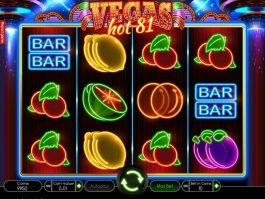 Play slot machine Vegas Hot 81 no deposit