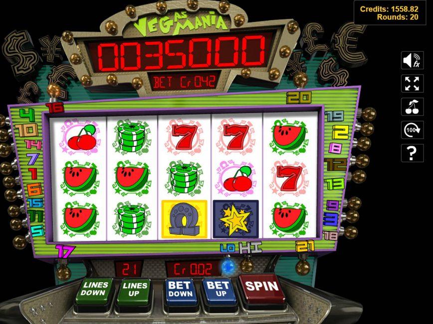 No registration slot game Vegas Mania