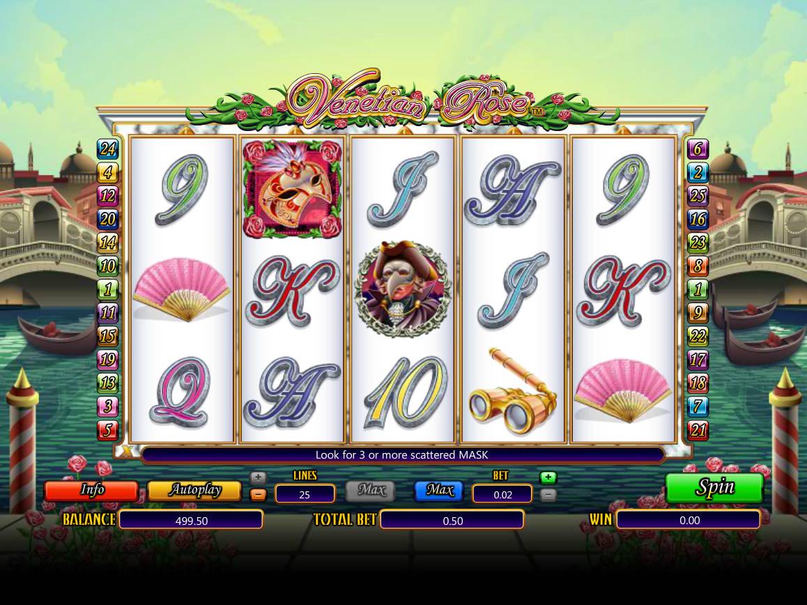 Spiele Venetian Rose - Video Slots Online
