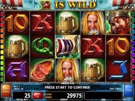 Play slot game Viking's Fun online