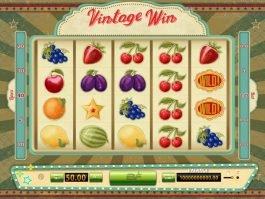 No deposit slot machine Vintage Win