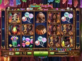 Voodoo Candy Shop slot machine for fun