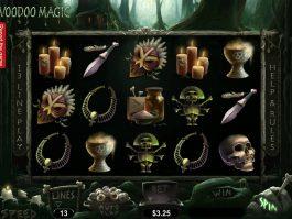 No deposit slot machine Voodoo Magic