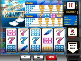 An image of casino slot game Welcome to Paradise