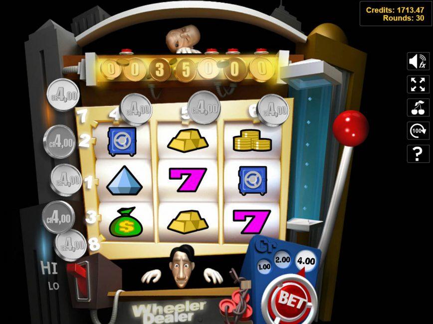 Slot for fun Wheeler Dealer online