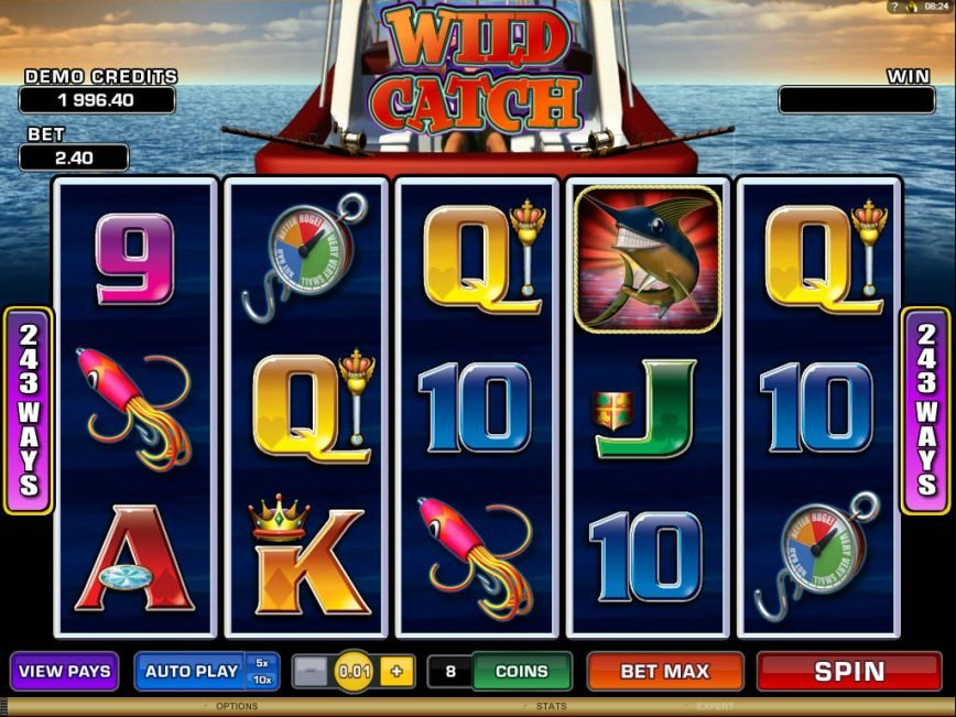 A picture of the slot game Wild Catch