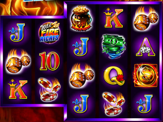 Wild Fire Riches free online slot for fun
