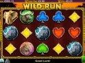 No deposit slot machine Wild Run