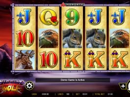 Casino slot game Winning Wolf no deposit