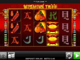 Slot machine for fun Wishing Tree