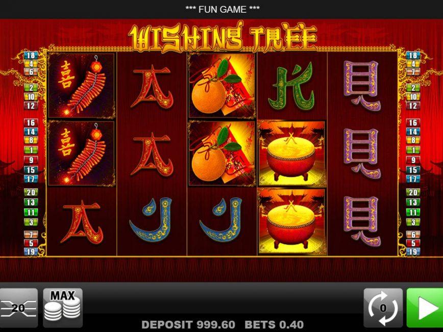 Slot machine for fun Wishing Tree