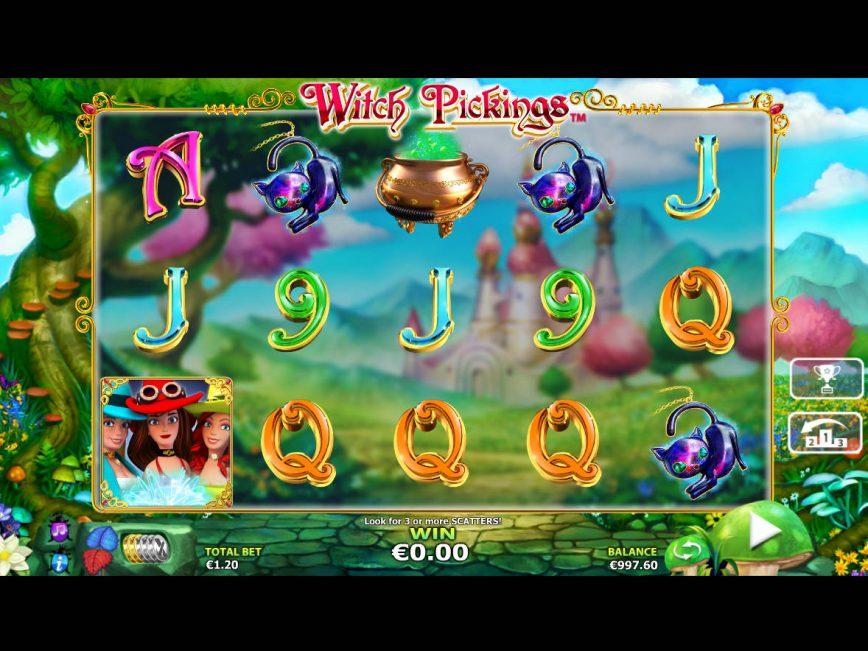 No deposit game Witch Pickings
