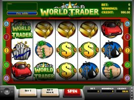 Spin casino slot game World Trader