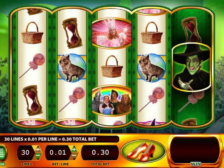 Free slot machine WOZ by Williams Interactive