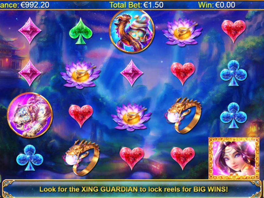 Xing Guardian no deposit slot game