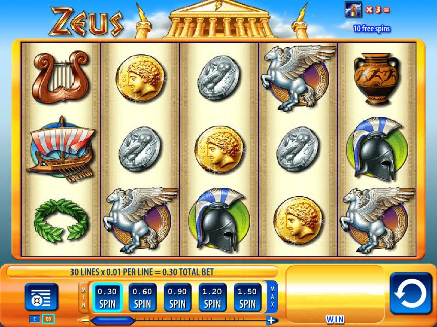 Zeus Slots Play Free Online