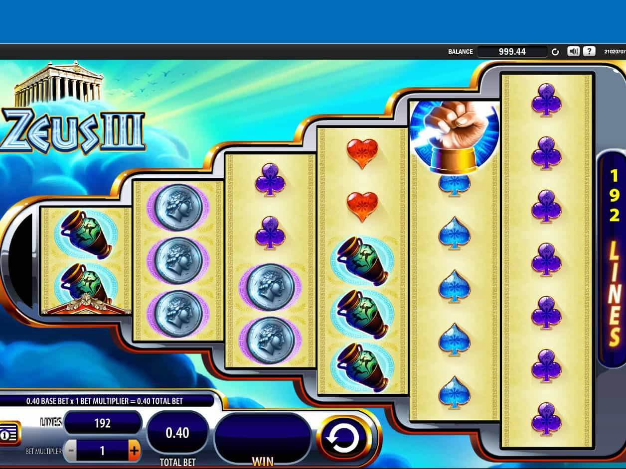 Zeus Iii Slot Machine Online